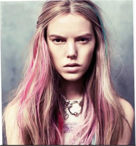 5 Easy Steps to Coloring your Hair Pastel Ombre - Birthday Girl World