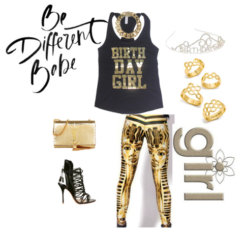 birthday outfit gold birthday ideas