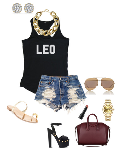 How To Rock Your Birthday Shirt LEO Edition
