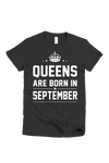 Queens Are Born in Tshirt (Plus)