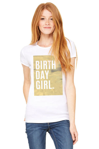 Gold Box Birthday Shirt
