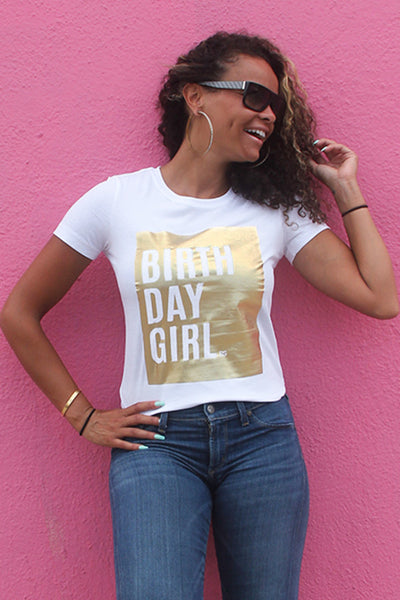 Gold Birthday Shirt Cute Bday Outfit Idea For Women