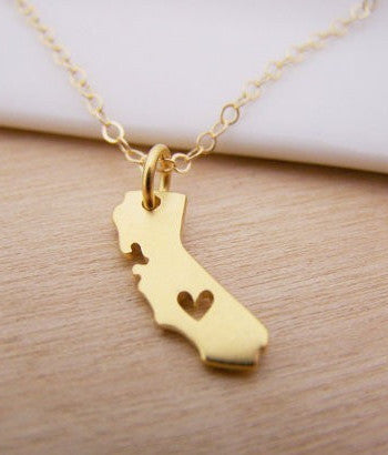 Jewelry - California State Necklace