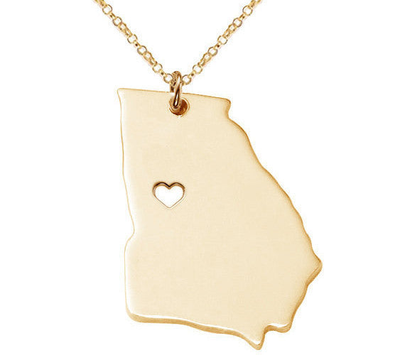 Jewelry - Georgia State Necklace