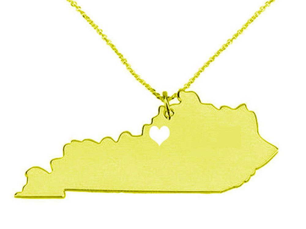 Jewelry - Kentucky State Necklace