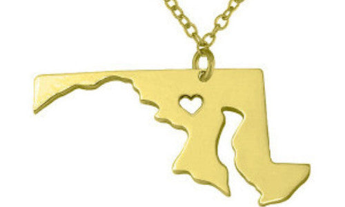 Jewelry - Maryland State Necklace