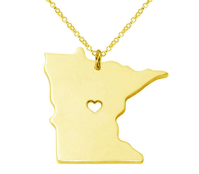 Jewelry - Minnesota State Necklace