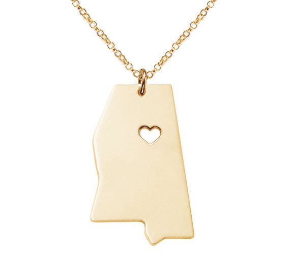 Jewelry - Mississippi State Necklace