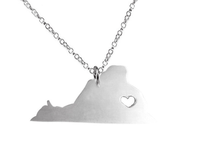 Jewelry - Virginia State Necklaces