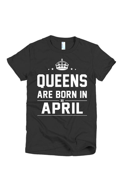 Print Aura - Queens Are Born In April