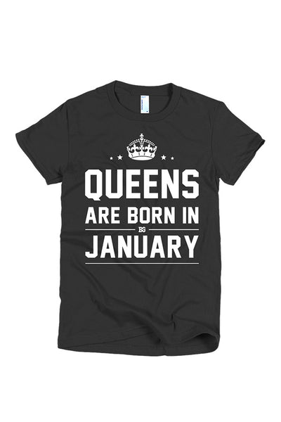 Print Aura - Queens Are Born In January