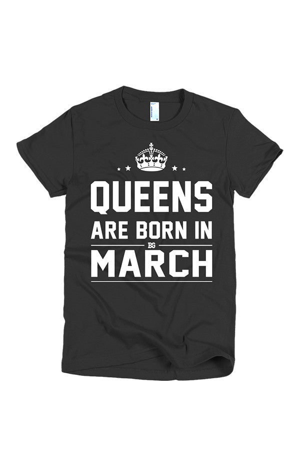 Print Aura - Queens Are Born In March
