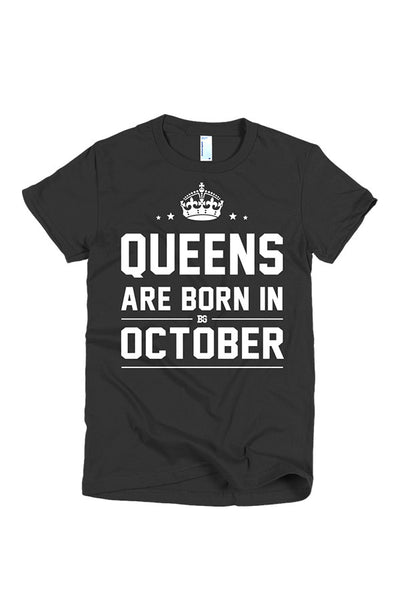 Print Aura - Queens Are Born In October