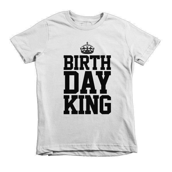Printful - Kid's Birthday King Shirt