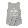 Queens are Born in September Muscle Tank