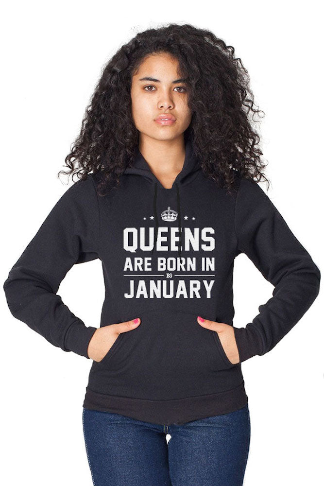 58689e033 Queens Are Born In Hoodie (All Months)