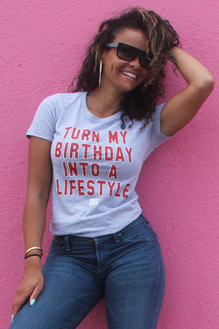 Birthday Lifestyle Tshirt