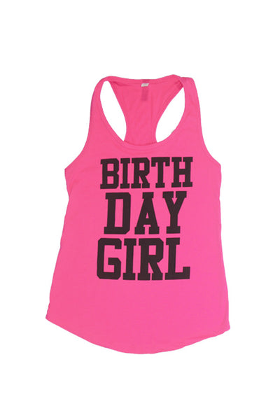 Tank Tops - Birthday Girl Tank Top