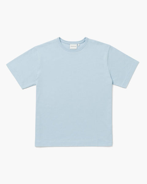 Richer Poorer Everyday Weighted Tee Blue Fog