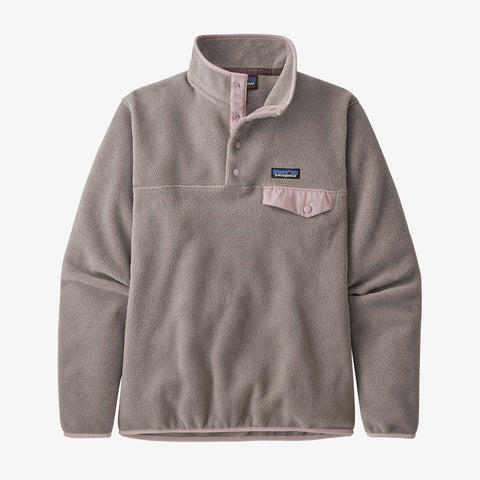 Patagonia LW Synch Snap-T P/O Women Furry Taupe Hazy Purple