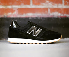 373 BTW Women New Balance Black/White/Gum