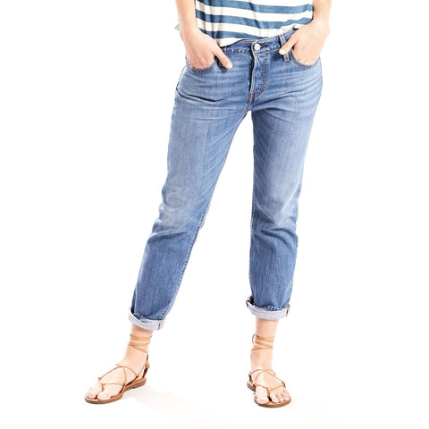 501 CT Women Levi's Tune Out Blue