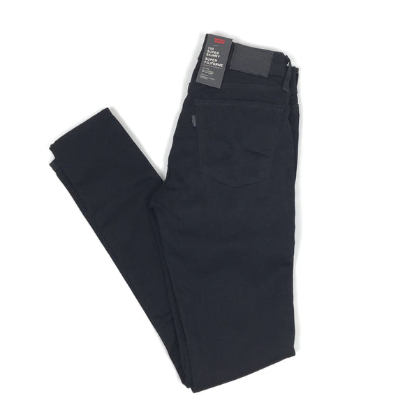 Levi's 710 Super Skinny Women Black