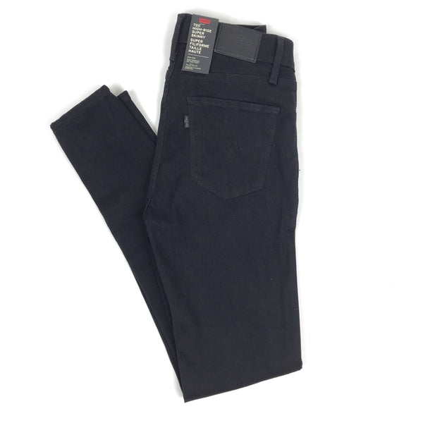 720 High Rise Super Stretch Skinny Women Levi's Black
