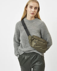 Allirea Jumper Women Minimum Light Grey Melange