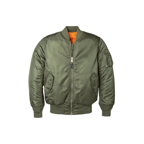 Alpha MA-1 Slim Women Jacket Sage Green