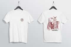10th Anniversary T-Shirt PRE-SALE Alta White Red Black