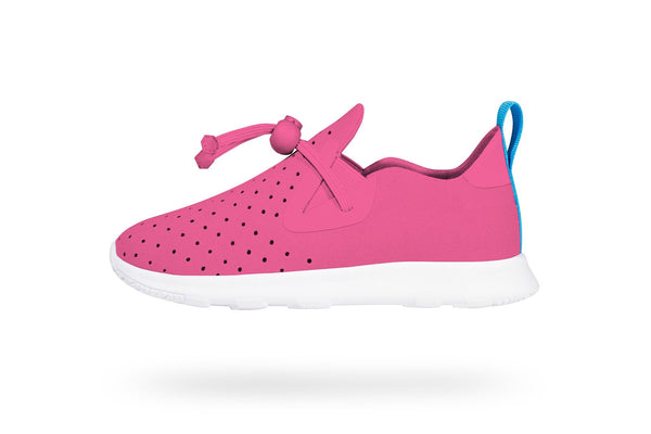 Native Apollo Moc Junior Hollywood Pink/Shell White