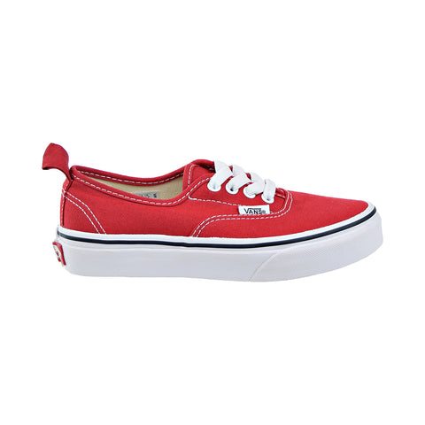Authentic Youth Elastic Vans Kids Red