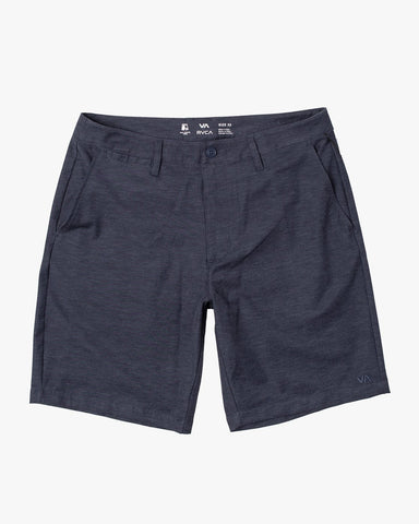 "Back In 19"" Hybrid Short Men RVCA Denim Heather"