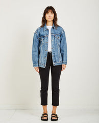 Levi's Baggy Trucker Women Bust a Move