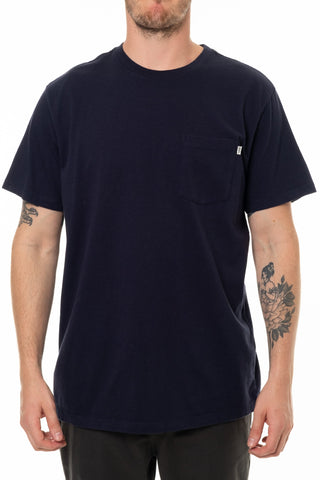 Base Pocket Tee Katin Mn Navy