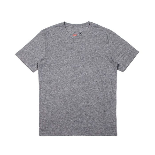 Basic SS Prem Tee Men Brixton Heather Grey
