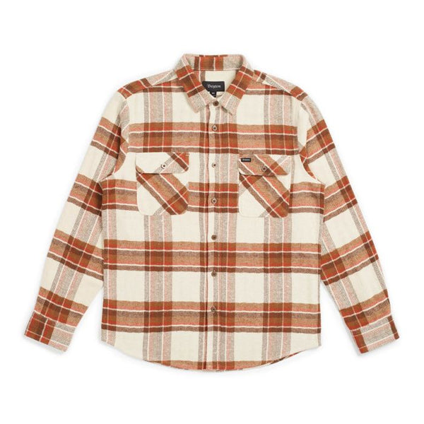 Bowery LS Flannel Men Brixton Dove