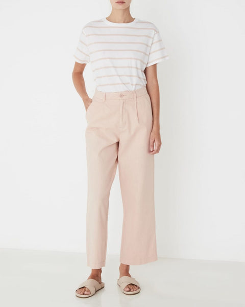 Santal Linen Pant Assembly Label Wm Rosewater
