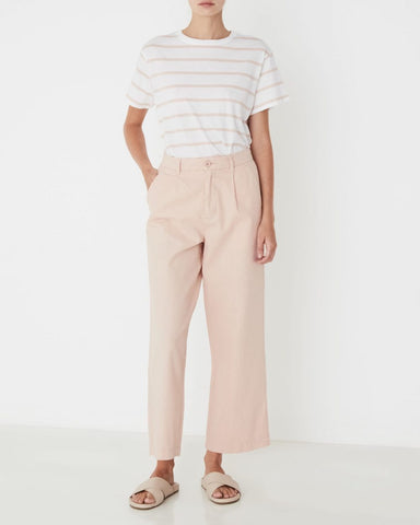 Assembly Label Santal Linen Pant Women Rosewater