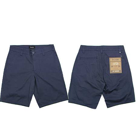 Carter Relaxed Fit Chino Short Brixton Indigo