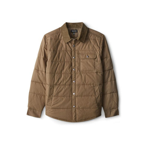 Brixton Cass Jacket Men Military Olive