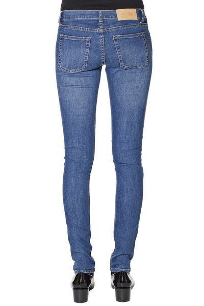 Slim Cheap Monday Credit Mid Blue