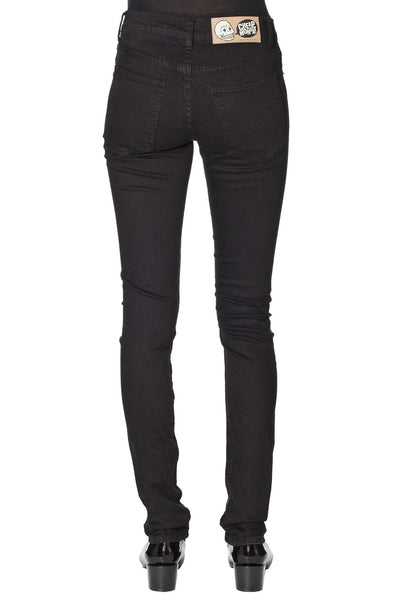 Tight Cheap Women Monday New Black