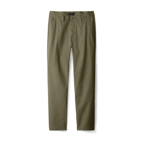 Brixton Choice Chino Taper Crossover Pant Men Military Olive