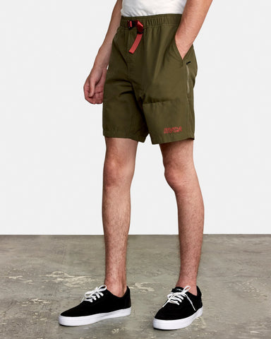 "Civic 18"" Hybrid Short Men RVCA Olive"