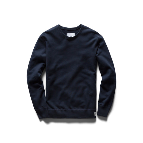 Reigning Champ Midweight Terry Crewneck Men Navy