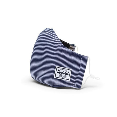 Face Mask 3 Layer Classic Fit Herschel Peacoat Enginereed Stripe
