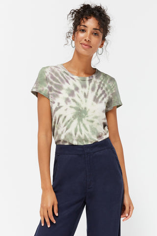 LACAUSA Frank Tee Women Sugar Plum Swirl