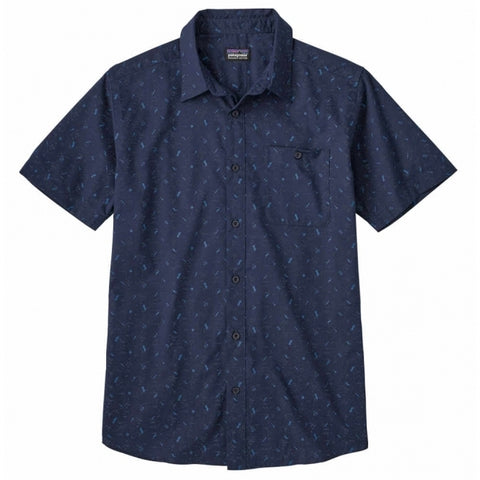 Go to Shirt Men Patagonia Rockwall Classic Navy